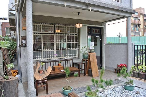 台南早餐-鹿角枝咖啡老房子