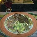 晚餐的菜~自助式的!