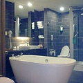 房間的大浴缸