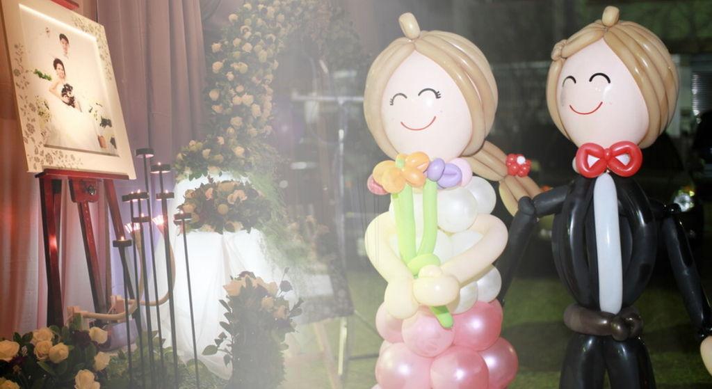 會場花藝氣球佈置