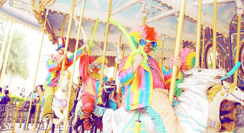 歡樂氣球魔術小丑