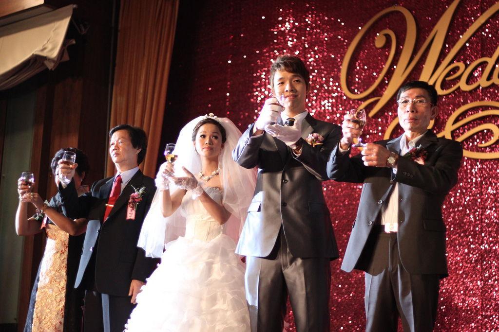張蔣府魔幻婚禮喜宴