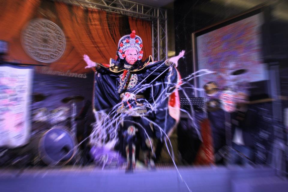 天璽五社區聖誕晚會魔術表演