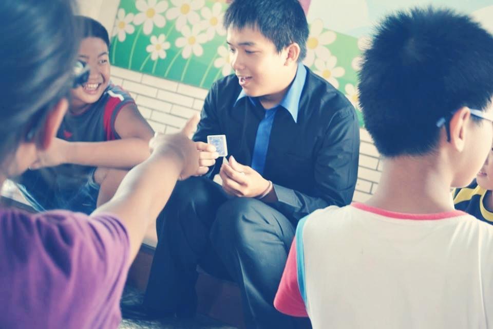 路上國小暑假夏令營魔術課、造型氣球教學