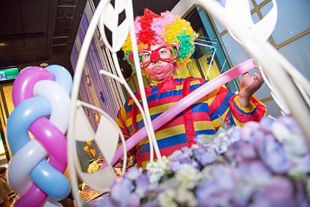 聖耀&孟芳魔幻婚禮喜宴 - 魔術表演&氣球小丑&婚禮主持&婚禮企劃