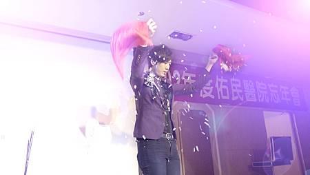 2014草屯祐民醫院尾牙 - 魔術表演、變臉表演、調酒表演、小丑表演