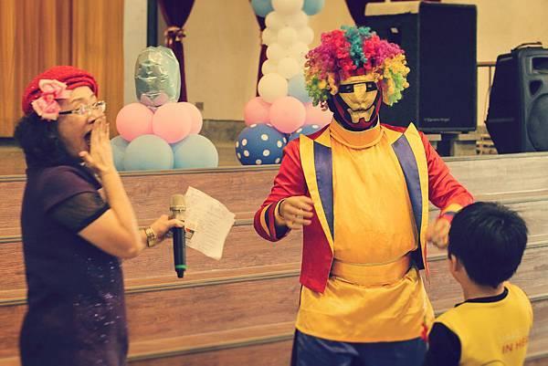 台中市沙鹿幼兒園畢業典禮 - 魔術表演、小丑、變臉表演