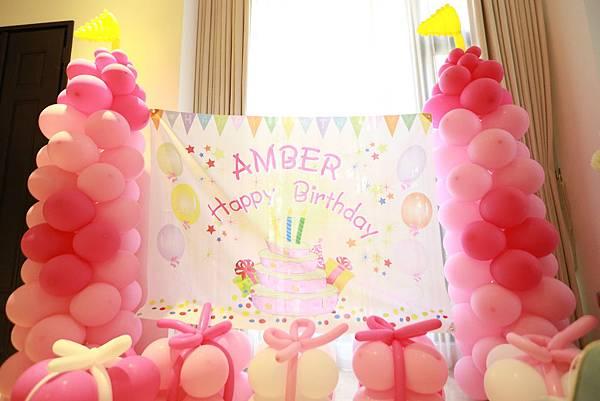 Amber生日派對活動表演 - 說故事姊姊、小丑氣球