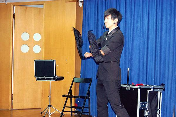 東海大學附屬國小畢業同學會魔術表演