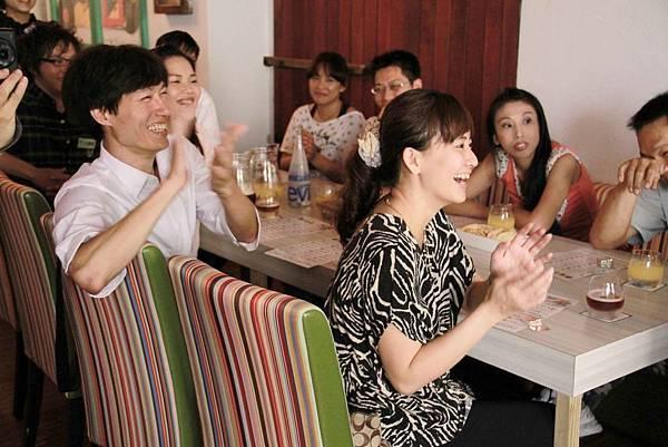 Micaela義式料理私人生日派對魔術表演