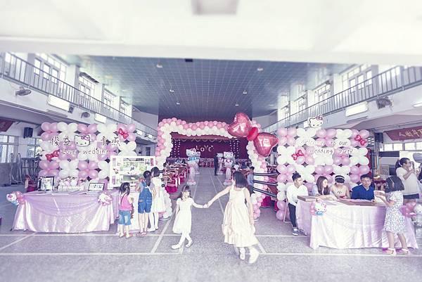 俊益&青燕婚禮魔術表演、小丑表演、婚禮主持、會場佈置
