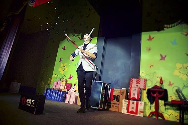 南投縣補習教育協會尾牙魔術表演、小丑表演、尾牙主持