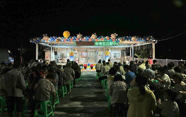 麻豆海埔里中秋晚會會場佈置、魔術表演、小丑氣球
