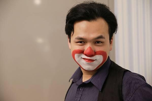 漢民科技尾牙魔術表演、氣球小丑