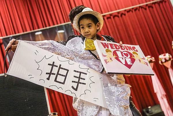 志鑫&宛婷魔幻婚禮企劃會場佈置、魔術表演、氣球小丑