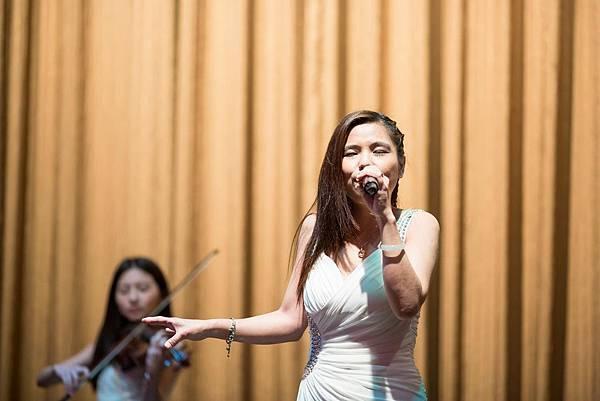 溥鈞&麗惠婚宴魔幻婚禮企劃會場佈置、樂團演奏
