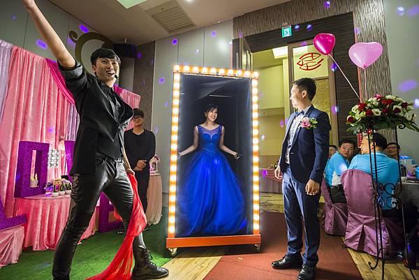 鎧任%26;珮珊婚宴婚禮佈置、魔術表演、迎賓小丑