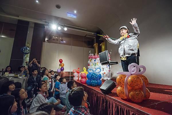 歡樂麻吉生日派對(苗予寬)魔術表演、會場佈置