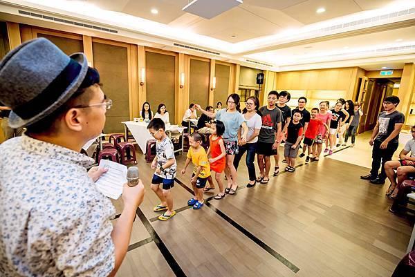 龍寶社區中秋晚會三人樂團、活動主持
