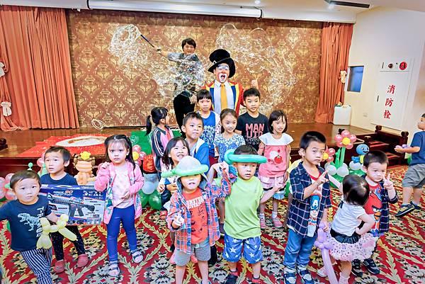 台積電家庭日活動主持、氣球小丑、魔幻泡泡秀、會場佈置