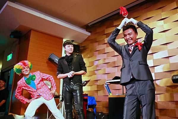 陳府文定魔幻婚禮魔術表演、迎賓小丑