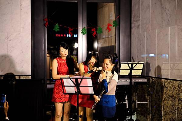 惠宇可觀社區耶誕晚會小丑魔術、樂團主持