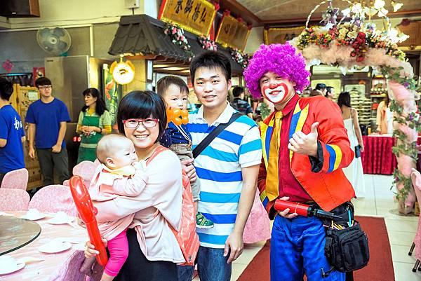 建霖&怡萱婚宴婚禮主持、魔術表演、氣球小丑