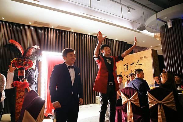 陶醴會館婚宴-魔術表演、婚禮主持