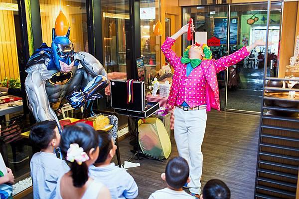 台中ping18生日派對小丑表演
