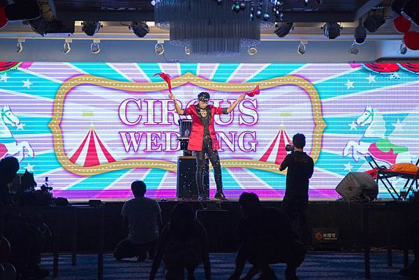 全國麗園婚禮體驗日魔術表演、氣球小丑