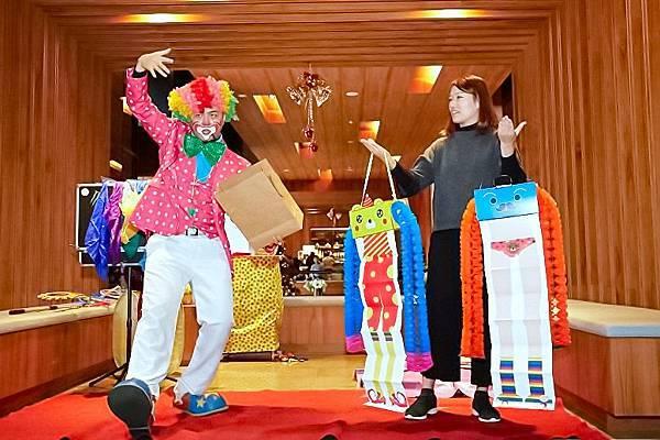 7靜心文匯社區聖誕活動魔術表演、小丑舞台、魔幻泡泡秀