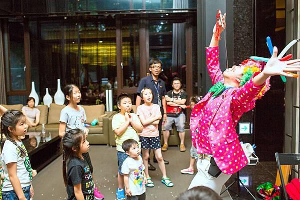 景雲見社區派對氣球小丑、魔術表演
