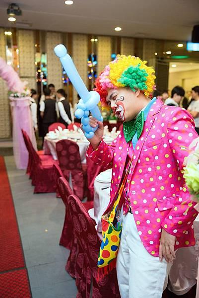 沙鹿魔幻婚禮迎賓小丑、魔術表演