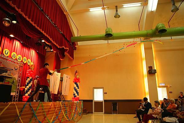 台北市兆如老人安養護中心魔術表演、川劇變臉