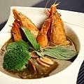 香煎杏仁海鮮飯