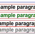 CSS Sample
