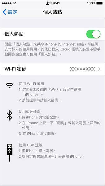 iPhone WiFi Share