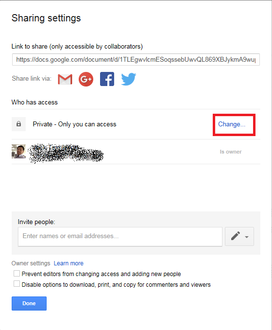 Google Drive Share-2a