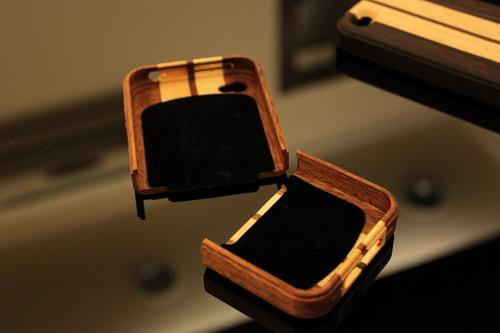 iphone4 木質保護殼