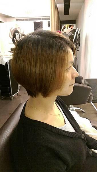 台北東區剪髮小隆推薦個性風格Bob女性髮型