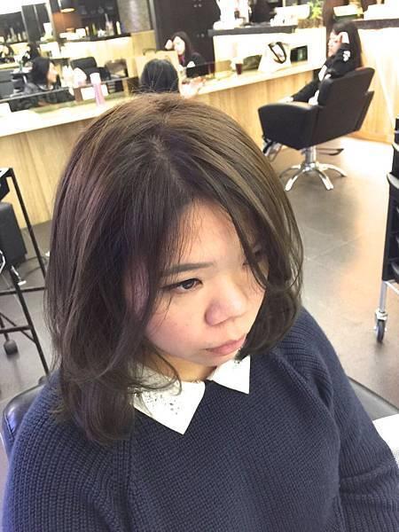 台北東區小隆推薦新色系,冷霧棕紫灰色調 magic salon