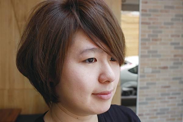 男孩風女性短髮