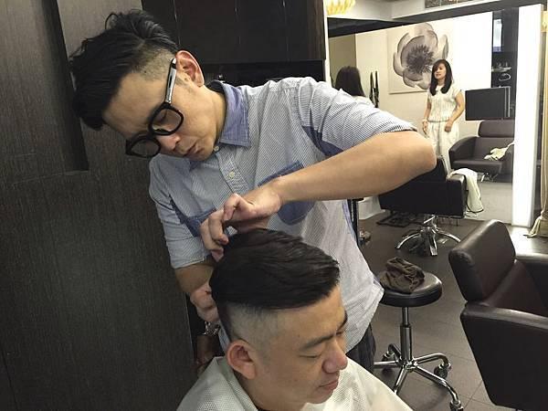 男士龐畢度髮型
