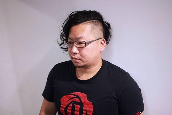 台北東區男性剪髮燙髮小隆