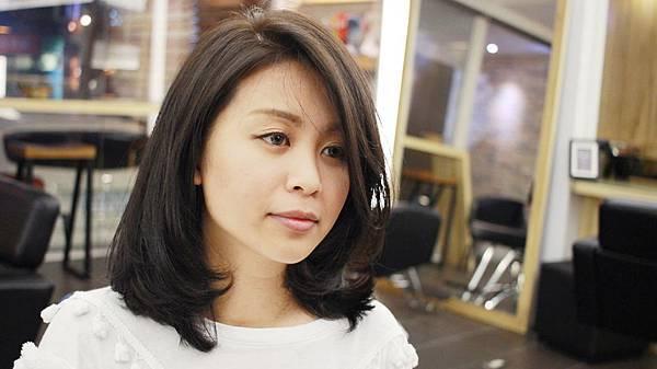 台北東區剪髮染髮小隆作品