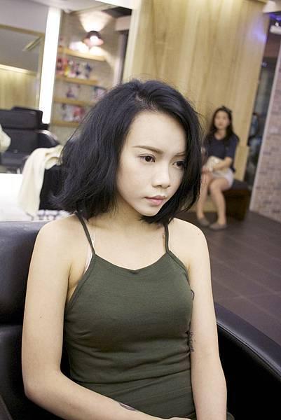 台北東區剪髮染髮小隆作品分享推薦magic salon