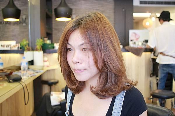 台北東區剪髮小隆作品分享推薦lob髮型