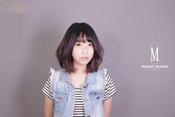 台北東區剪髮染髮燙髮推薦小隆作品