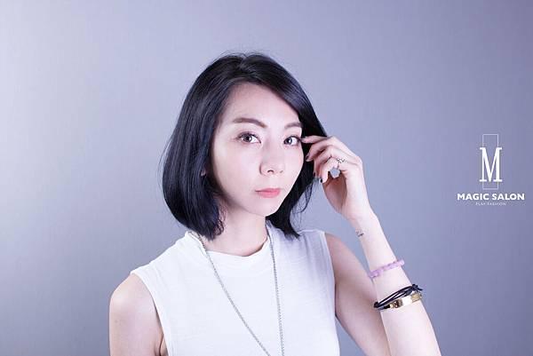 台北東區剪髮染髮燙髮推薦魔髮小隆作品2