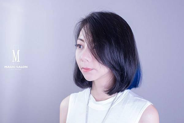 台北東區剪髮染髮燙髮推薦魔髮小隆作品4